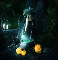Magic potion by ElenaDudina