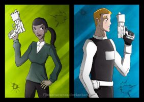 Providence Agents by flickersowner
