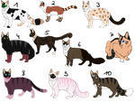# Draw to adopt - Cats - OPEN by PinkPlushChicken