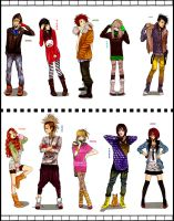 Crazy Outfits by DYMx