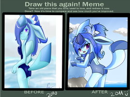 draw this again meme by MagicalChan