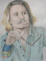 Johnny Depp by ChazyChaz