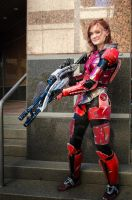 Commander Shepard by The-Prez
