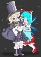 Magical Playdate by Steampunky-Bunny-Boo
