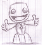 Sackboy Doodle by Splapp-me-do