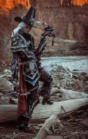 Valla Vampire Hunter cosplay 05 by FirstKeeper