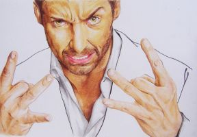 Hugh.Jackman.WOLVERINE.xmen.FINISHED by iViziDiManola