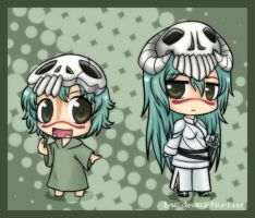 Chibi Nel and Chibi Chibi Nel by HamsterParade