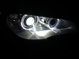 BMW X5 night view by DrawingForLiving