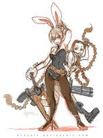 Bunny Riven by bcnyArt