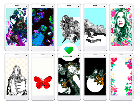 LINE DECO Wallpapers by KarmaLizzard