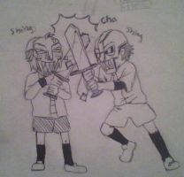 sword fight by skatergirl747