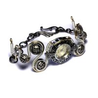 Steampunk watch bracelet 4 by CatherinetteRings