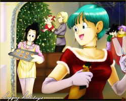 DBZBeauties Holiday Entry by Glay