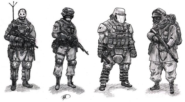 Soldiers by TimSlorsky