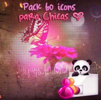 Pack 6O icons para Chicas by Floveee