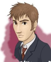 The 10th Doctor by kelly42fox