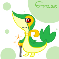 12 - Snivy by crystalkirby