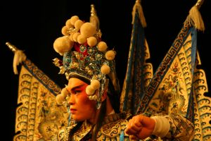 Sichuan Opera Chongqing China by davidmcb
