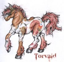 Torvald the Warhorse by Pink-Myotis