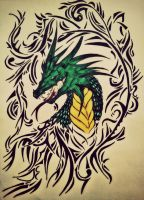 Dragon :D by tattoo-love-forever