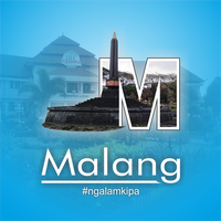 city trhough letter Malang2 by agunghan27