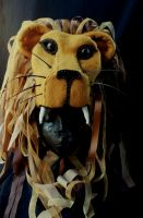 Luna Lovegood's Lion Hat by SlannMage