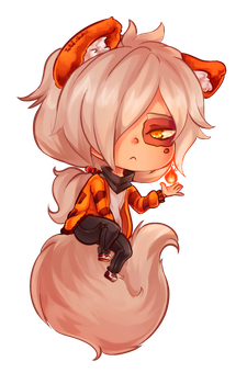 COMMISSION SAMPLE - Soft Shading CHibi A by Pan-koo