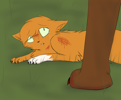 Goodbye Squirrelflight by evertenn