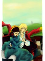 Howl's Moving Castle by i-RaiNy-i