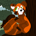 Tobie In A Tree by GDrKOOLAID