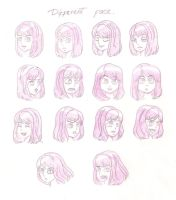 Different Face by Siulyvale