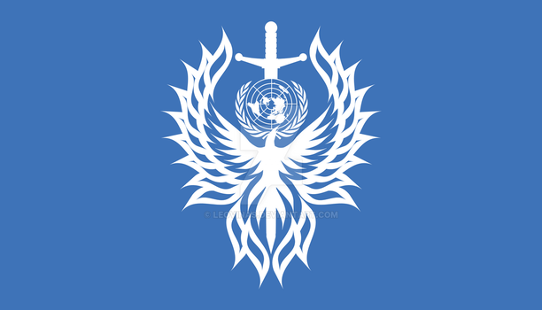 Sci-Fi: Battle Flag of the United Earth Alliance by Leovinas