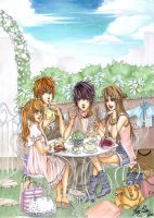 After Shopping... Tea Time by Kai-Yan