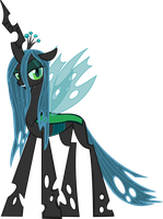 Queen Chrysalis by thebosscamacho