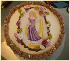 Tangled Cake by Junie-zidye