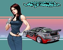 Izzy_B of NFS Most Wanted by pipin