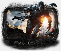 Battlefield 4 - Gift do SkyLove by pedrowo