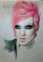 Jeffree Star's Fabulous Pink 'Do. by TashaNull