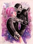 Crona and Ragnarok by RetkiKosmos