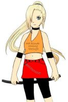 Ino: battle mode by sydking2