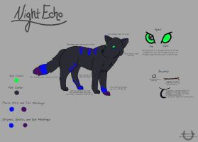 NightEcho Reference Sheet by 4ever-rider