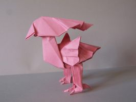 Pink Chocobo by Anna115