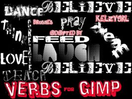 Verbs for GIMP by kelzygrl