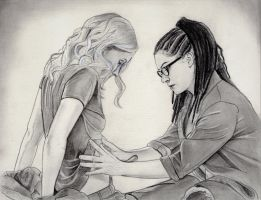 Cophine (Orphan Black Drawing) by julesrizz