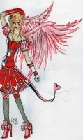 Angel of Hearts by The-Black-Phoenix418