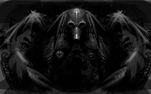 War Mask by EthicallyChallenged