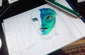 Avatar wip by Alone-Immortal