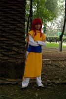 Kurama Dark  tournament outfit (Yu Yu Hakusho Cos) by Sakura23165