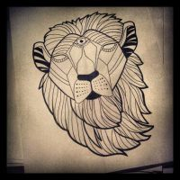 lion icon by josiesparks